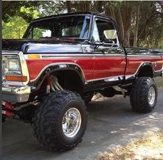 This type of classic ford trucks is an unquestionably inspiring and outstanding idea 1979 Ford Truck, Ford Pickup Trucks, Ford 4x4, 4x4 Trucks, Diesel Trucks, Custom Trucks, Cool Trucks, Chevy Trucks, Ford Bronco