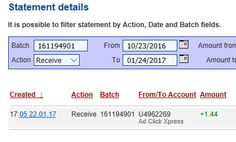 If you are a PASSIVE INCOME SEEKER, then AdClickXpress (Ad Click Xpress) is the best ONLINE OPPORTUNITY for you.I WORK FROM HOME less than 10 minutes and I manage to cover my LOW SALARY INCOME. Here is my Withdrawal Proof from AdClickXpress. I get paid daily and I can withdraw daily. Online income is possible with ACX, who is definitely paying. http://www.adclickxpress.com/?r=wczes7fw5yn&p=mx