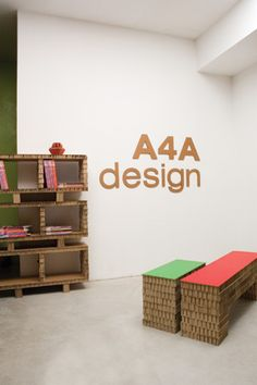 A4Adesign - Mobili in cartone