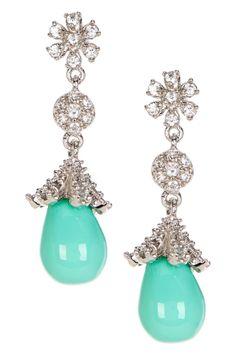 Kiara Pave Enamel Earrings