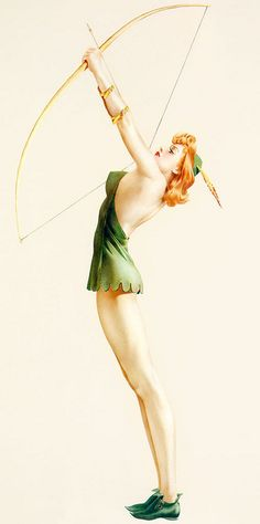 Pinups in general, but Vargas --amongst others--specifically. Gonna get another pin-up tattoo in the near future...