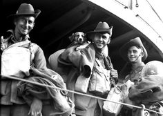 Australian Infantrymen of the 2/48th Battalion, 9th Australian Division, leave the port city of Tobruk, Libya with a stray puppy following the Allied success of the Siege of Tobruk, a confrontation that lasted for 241 days between Axis and Allied forces in North Africa during the Western Desert Campaign. The siege began on 11 April 1941, when Tobruk was attacked by an Italo-German force under command of German Lieutenant General Erwin Rommel, and continued for 240 days up to 27 November…