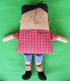 There are lots of cute girly doll toys and patterns out there, but what about the boys? Whether the little boy in your life wants to play make-believe with a toy that looks more like him, or your daughter wants a little boy for her girly dolls to play with, here's the most adorable boy doll sewing patterns and tutorials: