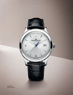 Master Control - Jaeger-LeCoultre Ref . 154 84 20 Stainless steel / leather