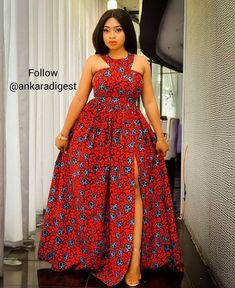 Unique Maxi Ankara is the most trending Ankara Styles for the Ladies to showcase how Unique they are. African Dresses For Kids, African Maxi Dresses, Latest African Fashion Dresses, African Print Fashion, African Attire, Ankara Maxi Dress, Ankara Dress Styles, Ankara Gowns, Moda Afro