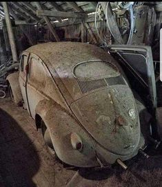 28 Ideas For Vintage Cars And Trucks Barn Finds Passat Tdi, Vw Tiguan, Golf 7 Gti, Dodge, Volkswagen Golf Mk1, Volkswagen Transporter, Vw Vintage, Rusty Cars, Best Muscle Cars