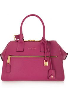 Marc Jacobs Incognito medium textured-leather tote | NET-A-PORTER