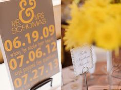 Amanda and Nick's Yellow and Gray Chevron Wedding » Two Birds Photography Blog