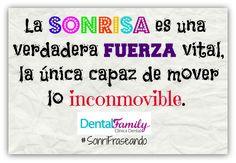 ¡¡FELIZ VIERNES a todos!! ¡¡Las mejores frases sobre la sonrisa y para motivarnos están en www.sevilla-dentista.com !! #FelizViernes #SonriFraseando #ClínicaDentalFamily #DentistaSevilla #Dentista #Sevilla #Salud #Sonrisas #Odontología #Citas #Frases