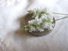 White lilac. Dollhouse & Miniature ROSY, Yukari Miyazaki
