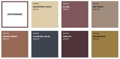 If you're looking to paint a room, you need to check out Sherwin-Williams's latest Colormix Color Forecast, which highlights the color trends people are just starting to obsess over. Gold Paint Colors, Paint Color Schemes, Kitchen Paint Colors, Bedroom Paint Colors, Best Interior Paint, Interior Paint Colors, Interior Painting, Interior Plants, Interior Door