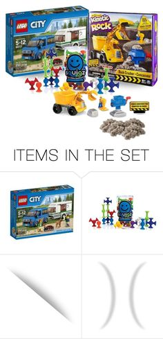 """""""Richie Was Feeling Merry, Too…He Had Received a Lego City Set, a Rock Crusher Outfit, & a Tube of Squigz """"Suckers"""", Which Was Really More for Fred Than Richie"""" by maggie-johnston ❤ liked on Polyvore featuring art"""