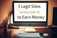 """How to make money online when you're under 18?""    That's a question I get asked a lot.    We've already shared many ways for teens to earn money online.    We've also shared many online jobs for teens.    But many of"