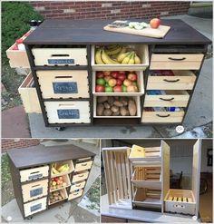 10 Amazing DIY Produce Storage Ideas For Your Kitchen