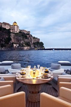 Yachting At sea, via Le croissant d'argent Dream Vacations, Vacation Spots, Oh The Places You'll Go, Places To Travel, Ibiza, Le Croissant, Hotels, Luxe Life, Luxury Lifestyle