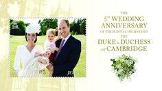 Duke and Duchess of Cambridge 5th wedding anniversary