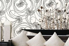 Sophisticated Dramatic Modern And Fun Black White Wallpaper Stands Out In So