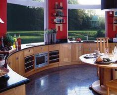 My yurt kitchen.... Eventually.