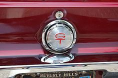 1968 Ford Mustang Photo Gallery: 1968 Ford Mustang Gas Cap