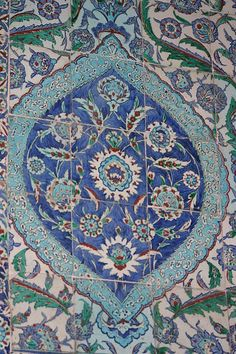 Iznik ceramic in the Blue Mosque