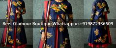 Phenomenal Dark Blue Anarkali Dress Product Code : Reet_a009To Order, Call/Whats app On +919872336509 We Offer Huge Variety Of Punjabi Suits, Anarkali Suits, Lehenga Choli, Bridal Suits,Sari, Gowns Etc .We Can Also Design Any Suit Of Your Own Design And Any Color Combination