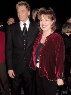 barry manilow photo gallery | Barry Manilow and Joy Bahar.