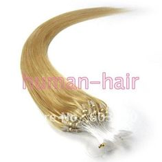 """Aliexpress.com : Buy 16""""18""""20""""22""""24""""26"""" micro rings/Loop hair extension #24 Medium Blonde color 40g/50g/70g per Lot Containing 100pieces from Reliable ring carbon suppliers on Hairia hair products Store"""