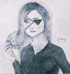 eliasveturiusfandom:  Izzi from An Ember in the Ashes by sabaatahir  All art credit goes to my best friend, Emily   Izzziiii!!!! Yaaaay!