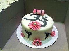 "Yoga Cake. $85.00 (8"")"