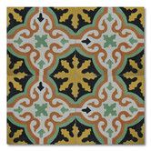 """Found it at Wayfair - Argana 8"""" x 8"""" Cement Marble Hand-painted Matte Tile in Multi-color"""