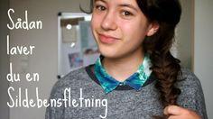 Lær hvordan du laver en sildebensfletning på aseaofinspiration.blogspot.dk