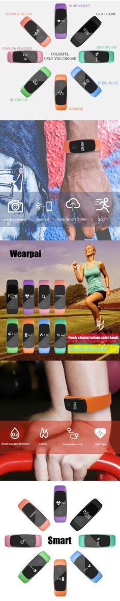 Original LETIKE WP109 colorful Smart Bracelet Heart Rate Monitor Fitness Tracker Smartband IP67  PRO Smart Wristband For APP