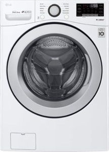 Washer and Dryer Bundles - Package LG Cu. Front-Loading Smart Wi-Fi Washer with Steam and Technology and Cu. Smart Wi-Fi Electric SteamDryer Sensor Dry and TurboSteam White - Best Buy Laundry Appliances, Home Appliances, Home Depot, Portable Washer And Dryer, Wifi, Stainless Steel Drum, Gas Dryer, Tub Cleaner, Front Load Washer