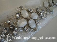 Bridal Belts and Sashes Augusta Jones N21 Bridal Belts and Sashes Image 1