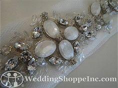 Bridal Belts and Sashes Augusta Jones N21 Bridal Belts and Sashes Image 1