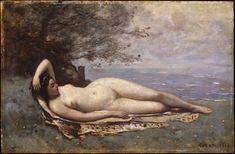 Camille Corot | Bacchante by the Sea | The Met