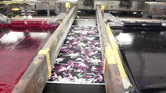 Production of printed cotton fabrics. A long but very informative video that cover all aspects of manufacturing printed fabrics.