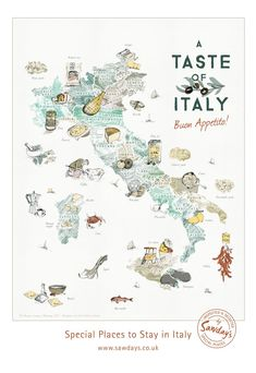 Travel infographic – An illustrated map of Italy's regional food Video Rezept Travel Maps, Travel Posters, Food Map, Italy Map, Map Of Italy Cities, Travel Illustration, Italy Illustration, Regions Of Italy, Learning Italian