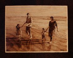 5 Year Anniversary Gift wood  8x10 by HAWKESPYROGRAPHY on Etsy, $199.00