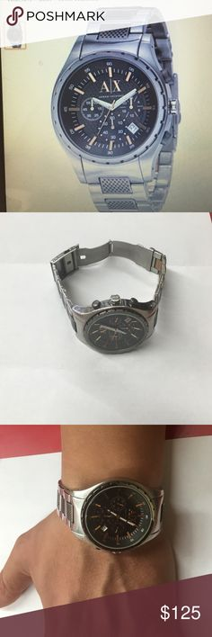 Armani Exchange Men's Watch Armani Exchange Men's Watch  Ax1093.       Pre-Owned  In mint condition  SALE ONLY Armani Exchange Accessories Watches