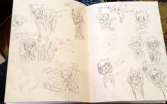 Fantroll sketches