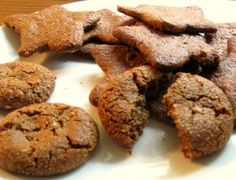 ginger molasses cookies  OK - baking up a storm this weekend!  And going to read as many versions of the Gingerbread Man as possible! What fun