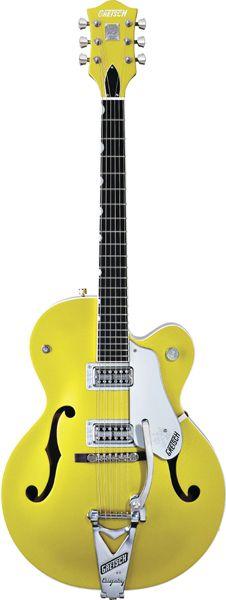 Gretsch G6120SHLTV Brian Setzer Hot Rod TV Jones Pickups Lime Gold