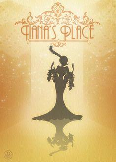Tiana's Place. #Disney #posters #tiana