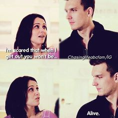 """#ChasingLife 1x10 """"Finding Chemo"""" - April and Leo"""