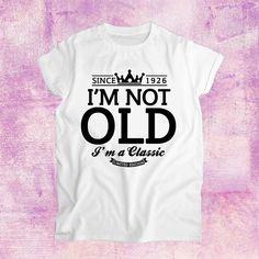 regalo de cumpleaños número 90 Im no viejo por TineaWilliamsPlace