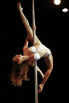 Pole dance. this is what my allegra needs to look like