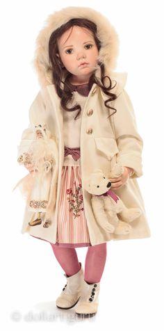 Harper. Фарфоровая кукла Hildegard Gunzel | Doll Art Guru