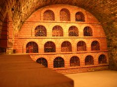 Villány, Hungary - wine cellar
