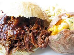 Pulled Pork Rub  also add, 2 large onions, thinly sliced  and 4 cloves garlic, smashed to the crock pot, serve with coleslaw